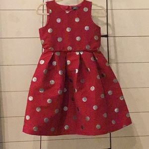 Girls Lands End dress size 12 worn once